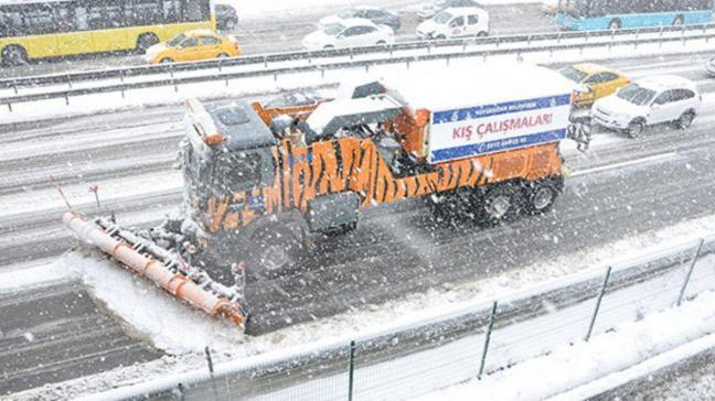 AKOM: İstanbul 'da 5 bin ton tuz kullanıldı