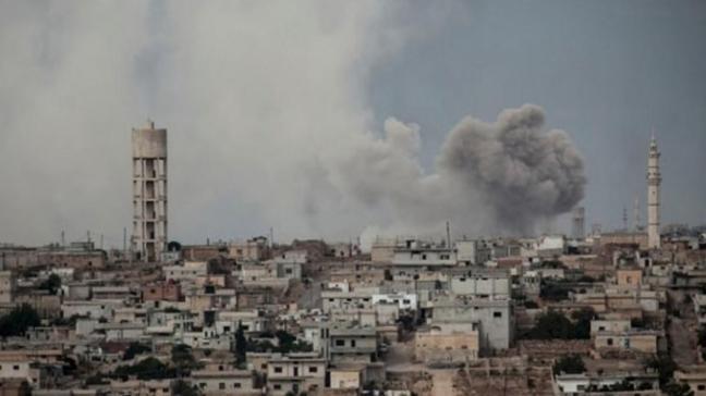 İdlib'e hava ve kara saldırısı: 2 ölü
