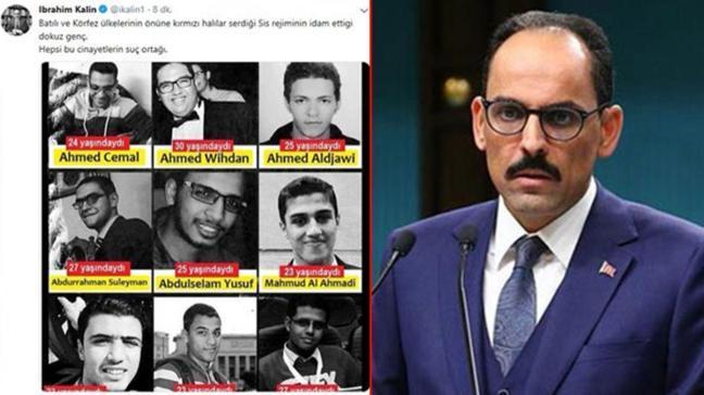 Kalın'da Sisi'yeidam protestosu