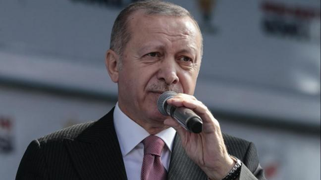 Başkan Erdoğan: Havalimanımızı inşallah seneye hizmete sunacağız