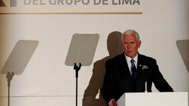 ABD Başkan Yardımcısı Pence: ABD bölgedeki müttefiklerine 56 milyon dolar ek yardımda bulunacak