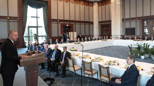 Başkan Erdoğan kanaat önderleri ile görüştü: Oynanan oyunu gördük ve karşı çıktık