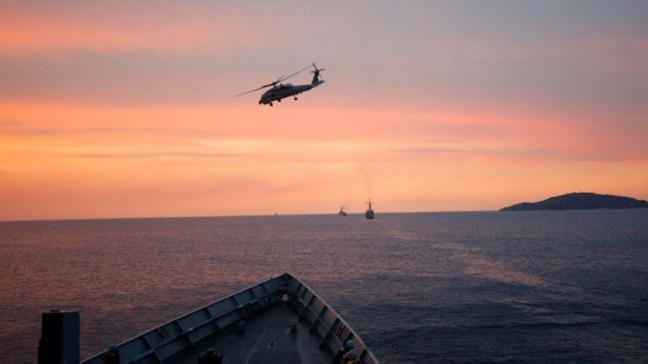 Cumhuriyet tarihinin en büyük deniz tatbikatı Mavi Vatan devam ediyor