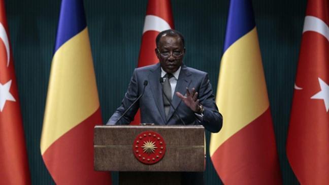 Çad Cumhurbaşkanı İdris Debi: Terörizm çağımızın ve yüzyılın vebasıdır