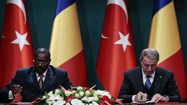 Türkiye-ÇAD arasında Askeri İşbirliği Çerçeve Anlaşması imzalandı