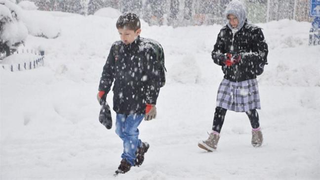 """28 Şubat okullar tatil mi"""" Elazığ ve Ağrı'da bugün okullar kar tatil oldu mu"""""""