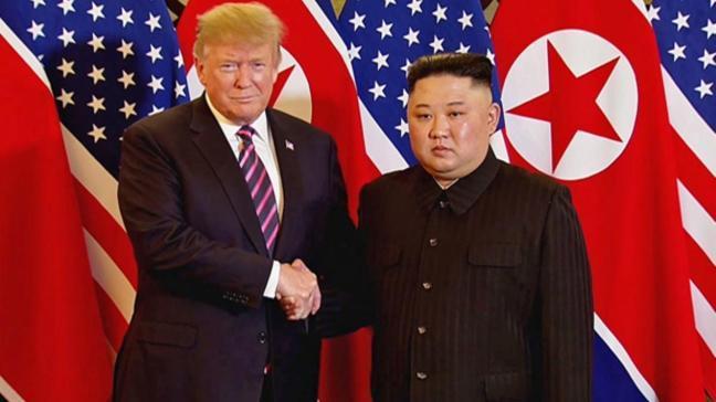 ABD Başkanı Trump: Kuzey Kore ile herhangi bir anlaşma imzalamayacağız
