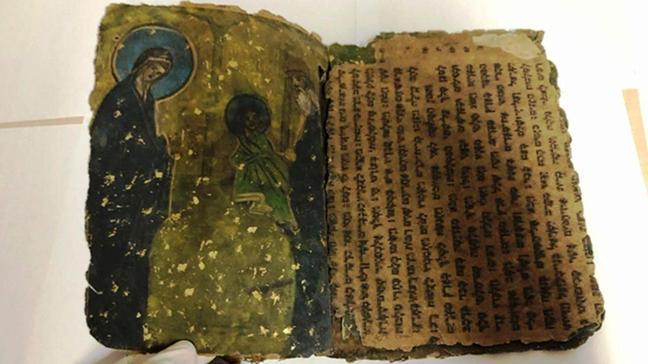 800 yıllık İbranice dini motifli kitap ele geçirildi