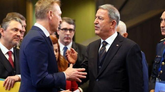 Milli Savunma Bakanı Akar, Shanahan ile görüştü