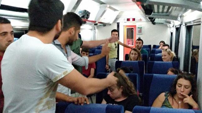 Köpeği ile trene binmek isteyince... Yüzlerce yolcu saatlerce bekledi!