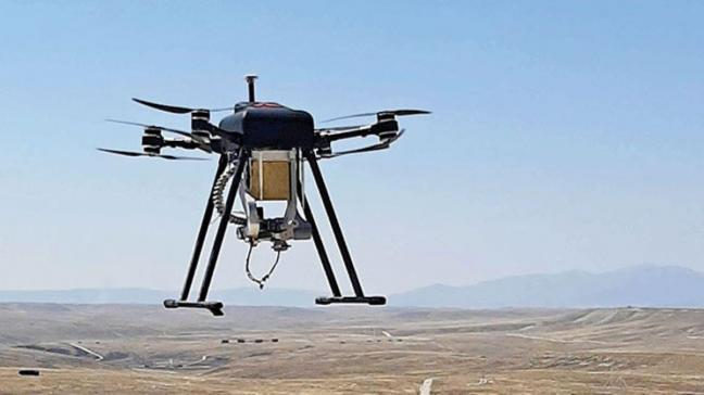 Silahlı drone 'Songar' bomba atar kuşandı