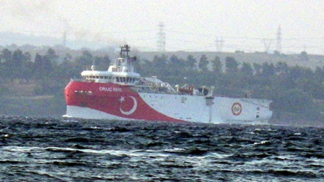 Türkiye'nin ilk yerli ve milli sismik araştırma gemisi Oruç Reis Akdeniz'e iniyor