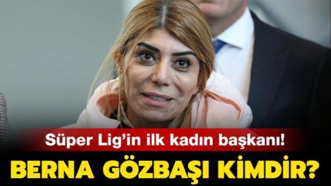 """Berna Gözbaşı Kayserispor başkanı oldu! Berna Gözbaşı kimdir, kaç yaşında"""""""