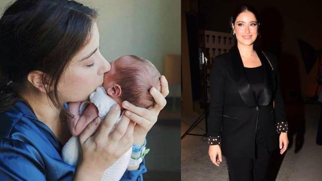 Taze anne Hazal Kaya'dan Fikret Ali paylaşımı: Böyle durduğuma bakmayın!