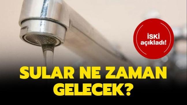 """Su kesintisi: Kağıthane ve Sarıyer'de sular ne zaman gelecek"""" İSKİ son dakika açıklaması"""