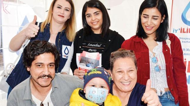 'Ramo' dizisi oyuncularından kök hücre bağışı