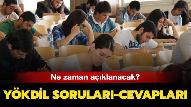 """1 Mart 2020 YÖKDİL sınav soruları nasıldı"""" YÖKDİL soruları cevapları yayında!"""