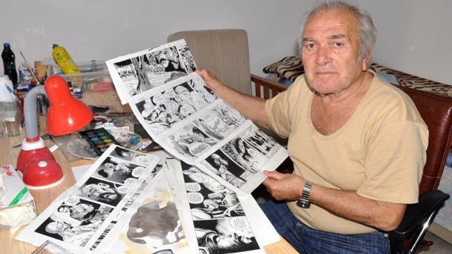 'Kara Murat'ın çizeri Abdullah Turhan vefat etti
