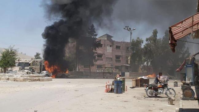 YPG/PKK'lı teröristlerin Tel Rıfat saldırısında 5 sivil öldü