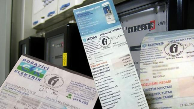 Elektrik ve doğal gaz faturaları için karar çıktı