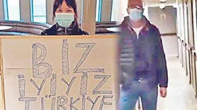 Gemiden mesaj var: Biz iyiyiz Türkiye