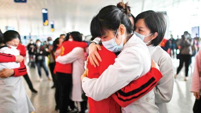 Koronavirüs sonrası karantinadan çıkan Çin'de evlilik patlaması!