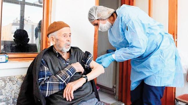 Evde sağlık hizmetinde patlama