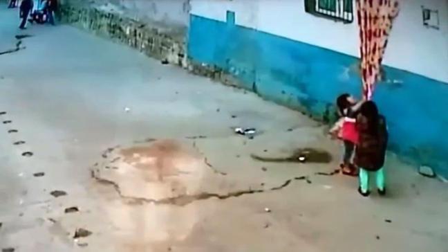 Yer: Şanlıurfa... Çocuklar ölümden kıl payı kurtuldu