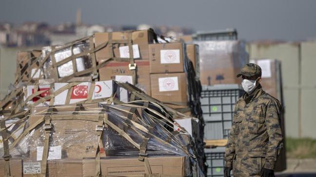 Türkiye'den Somali'ye yardım malzemesi desteği