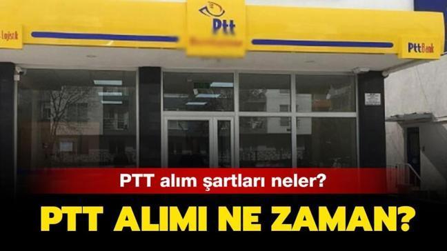 """PTT personel alım şartları neler"""""""