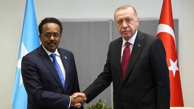 Başkan Erdoğan, Somali Cumhurbaşkanı Farmajo'ya mektup
