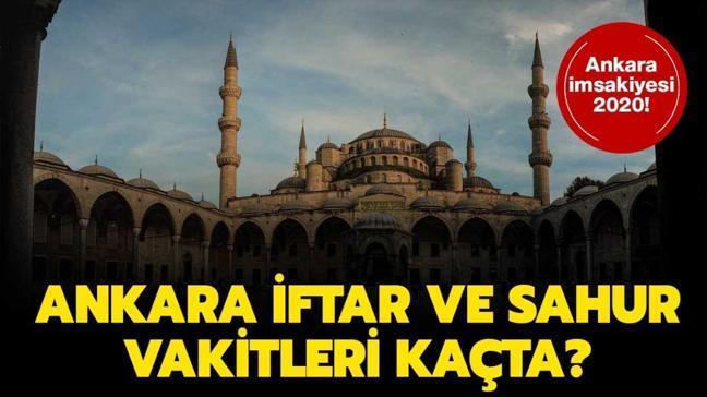Ankara imsak vakti 2020