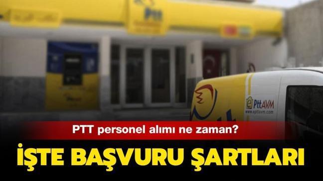 PTT personel alımına yoğun ilgi