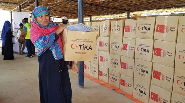 TiKA'nın yardım eli üç kıtaya uzandı