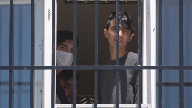 Tekstil fabrikasında çalışan 65 işçi karantinaya alındı