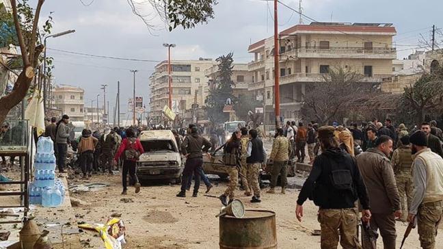Afrin'de terör saldırısı... 2 sivil yaralandı
