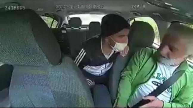 Takside gasp dehşeti