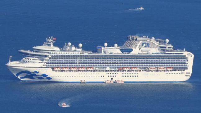 Koronavirüs nedeniyle 712 vaka ve 13 ölümün tespit edildiği Diamond Princess gemisi Japonya'dan ayrıldı!