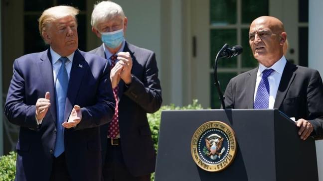 Trump'ın koronavirüs ekibinin başına getirdiği Müslüman doktor ABD'de gündem oldu