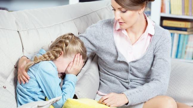 Çocuklarla korkuları hakkında konuşun