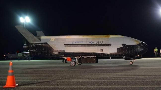ABD'nin uzay uçağı X-37B'ye yeni görev