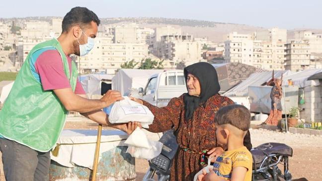 Afrin'de 20 bin kişilik iftar