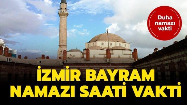 """İzmir bayram namazı saat kaçta"""""""