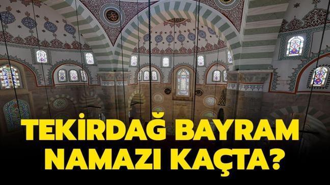 """Tekirdağ Ramazan Bayramı namazı ve kuşluk vakti 2020! Tekirdağ Duha ve bayram namazı saat kaçta kılınacak"""""""
