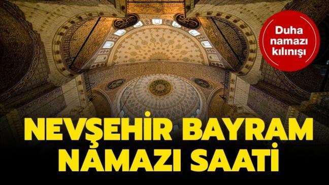 """Nevşehir bayram namazı saat kaçta"""""""