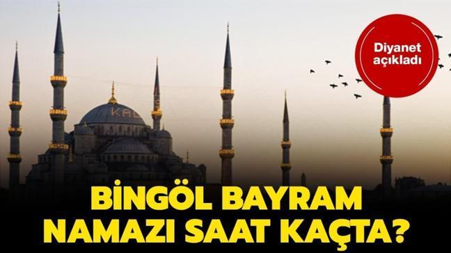 """Bingöl duha ve bayram namazı saati 2020! Bingöl bayram namazı saat kaçta"""""""