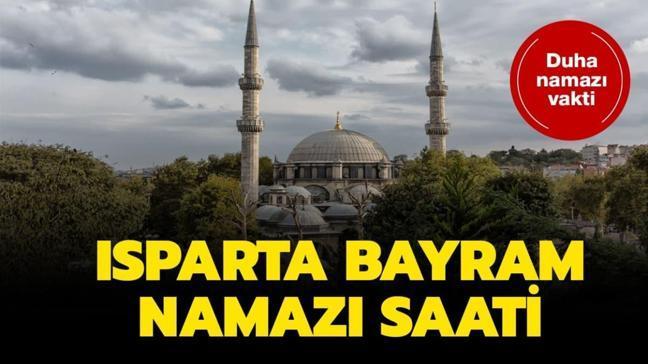 "Isparta bayram namazı saat kaçta"""