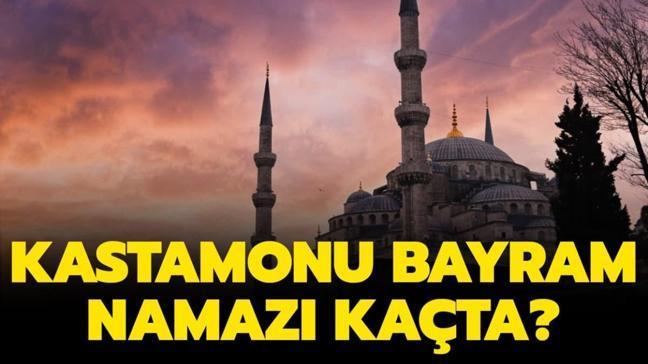 """Diyanet Kastamonu bayram namazı saat kaçta"""""""