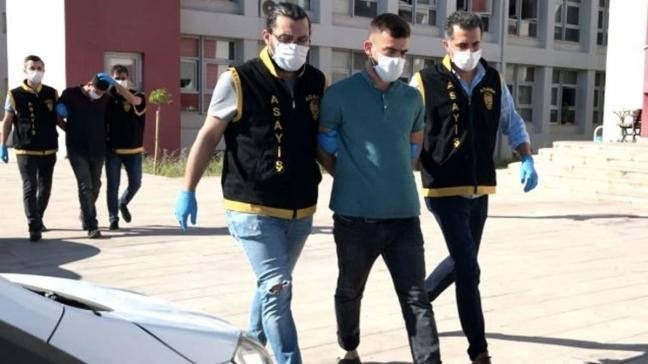 Gaspçı kardeşler Adana'da çaldı, Mersin'de tutuklandı