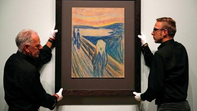 Rus milyarder 'Çığlık' tablosunu 120 milyon dolara satın aldı